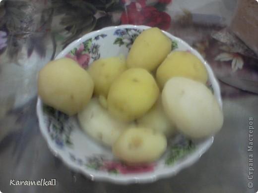 Вот такой сочный и питательный ужин приготовила я Для этого мне понадобилось -10 картофелин -5 яиц - 2-3 ложки майонеза -зелень -колбаса (по вкусу) -1 морковка -1 помидор -головка луковицы -сыр фото 3