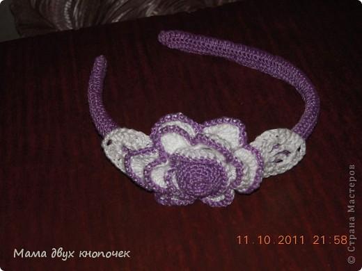 Резиночки и ободки для волос фото 3