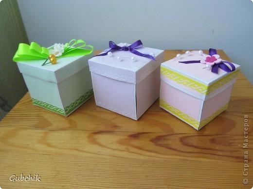 Коробочки с сюрпризом от новичка. фото 1