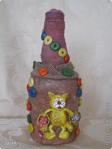 Увидела у Марины Архиповой, http://stranamasterov.ru/node/86529?c=favorite, великолепных котов. Самое главное, что там был мастер класс по созданию этих очаровашек. Раньше я никогда не лепила, самое большее, что делала, так это шарики, да кубики. Вот решила попробовать фото 9