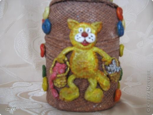 Увидела у Марины Архиповой, http://stranamasterov.ru/node/86529?c=favorite, великолепных котов. Самое главное, что там был мастер класс по созданию этих очаровашек. Раньше я никогда не лепила, самое большее, что делала, так это шарики, да кубики. Вот решила попробовать фото 6