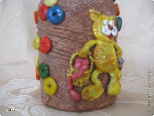 Увидела у Марины Архиповой, http://stranamasterov.ru/node/86529?c=favorite, великолепных котов. Самое главное, что там был мастер класс по созданию этих очаровашек. Раньше я никогда не лепила, самое большее, что делала, так это шарики, да кубики. Вот решила попробовать фото 7