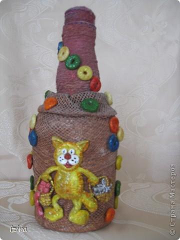Увидела у Марины Архиповой, http://stranamasterov.ru/node/86529?c=favorite, великолепных котов. Самое главное, что там был мастер класс по созданию этих очаровашек. Раньше я никогда не лепила, самое большее, что делала, так это шарики, да кубики. Вот решила попробовать фото 1