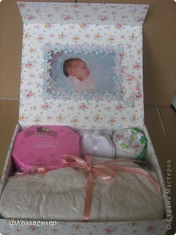 подарок на День Варенья маленькой Лизе(1 годик) фото 1