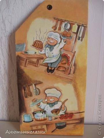 Принимайте в гости поварят. Они изрядно уже всем поднадоели, но они очень хорошо вписываются в любую кухню. Делала на подарок.  фото 2