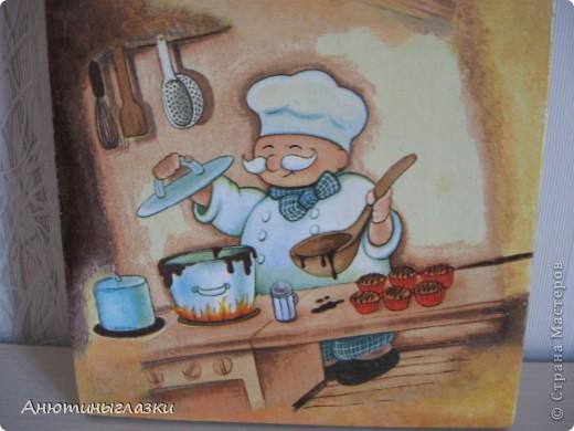 Принимайте в гости поварят. Они изрядно уже всем поднадоели, но они очень хорошо вписываются в любую кухню. Делала на подарок.  фото 4