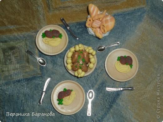 Десерт. Блинчики с вареньем и фруктами. фото 4