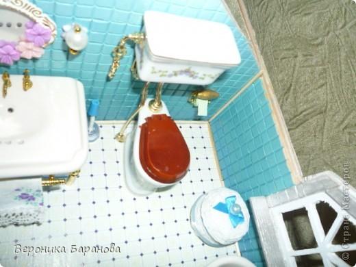 Ванная комната в самодельном домике. Пока дом без крыши. Етот интерьер пока что единственный доведеный до конца, до мелочей. Начинаем экскурсию! фото 2