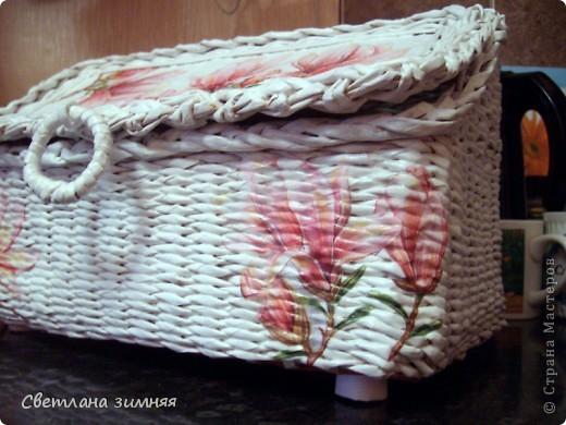 Очередную плетеную корзинку решила дополнить сладким букетом.Маме на день Рождения. фото 6