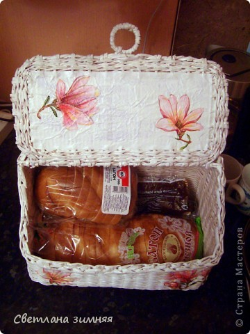 Очередную плетеную корзинку решила дополнить сладким букетом.Маме на день Рождения. фото 7