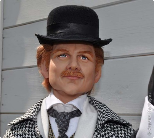 куклы Шерлок Холмс и Доктор Ватсон фото 2