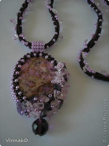 Бисерные украшения. фото 5