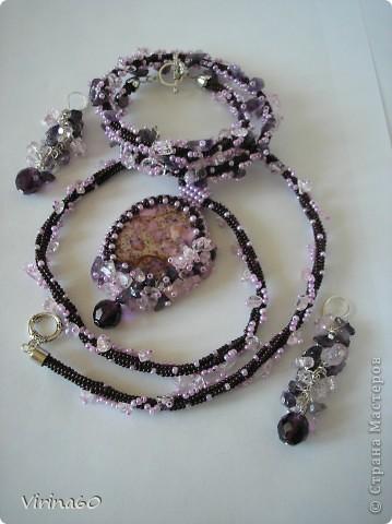 Бисерные украшения. фото 4