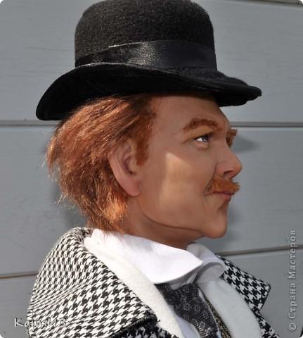 куклы Шерлок Холмс и Доктор Ватсон фото 5