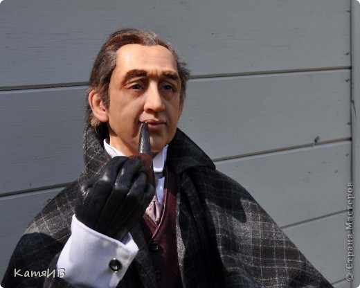 куклы Шерлок Холмс и Доктор Ватсон фото 4