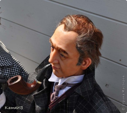 куклы Шерлок Холмс и Доктор Ватсон фото 6