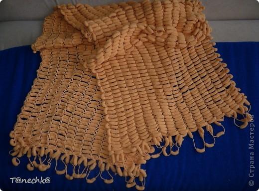 """Как говориться """"готовь сани летом..."""", вот и я связала на досуге шарф-палантин на холодное время года))))))) фото 1"""