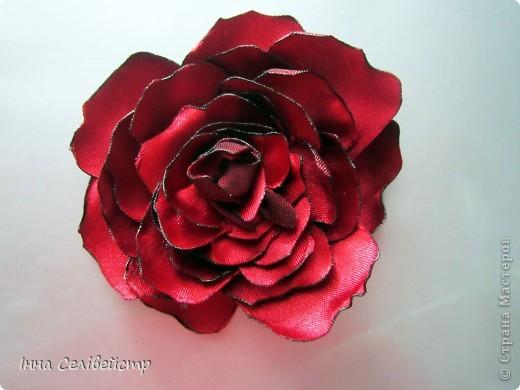 """Заколка """"Роза"""" фото 1"""