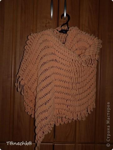 """Как говориться """"готовь сани летом..."""", вот и я связала на досуге шарф-палантин на холодное время года))))))) фото 3"""
