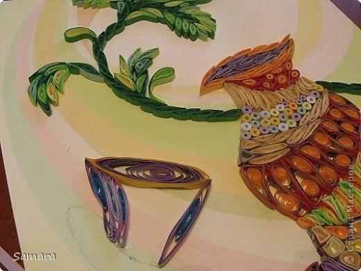 Натюрморт декоративный с вазой. Работа выполнена на формате А-3. фото 4
