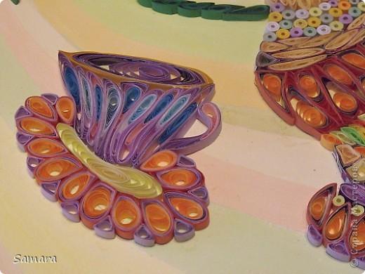 Натюрморт декоративный с вазой. Работа выполнена на формате А-3. фото 6