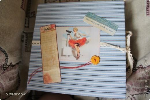 год лежала обложка и только сейчас решила сделать странички,он еще немного не доделан,но хочу вам показать.Огромное спасибо всем девочкам за подарки ,использовала их в оформлении,благодарю вас!!!!!!!!!!!!!!!!! фото 1