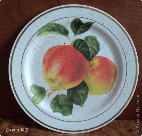 А сегодня у меня яблочки на тарелочках. Это первая. фото 5