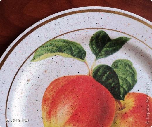 А сегодня у меня яблочки на тарелочках. Это первая. фото 6