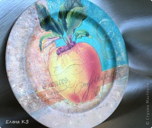 А сегодня у меня яблочки на тарелочках. Это первая. фото 4
