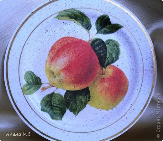 А сегодня у меня яблочки на тарелочках. Это первая. фото 7