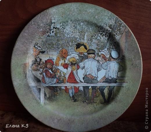 А сегодня у меня яблочки на тарелочках. Это первая. фото 9
