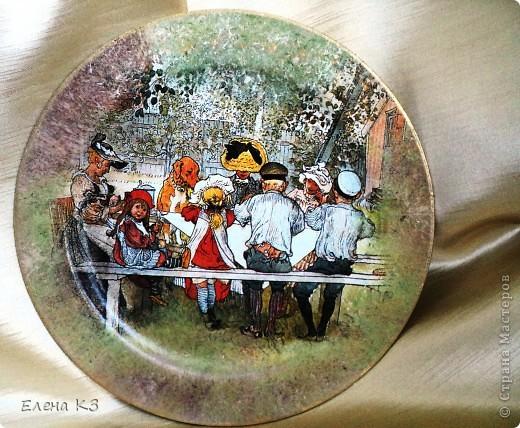 А сегодня у меня яблочки на тарелочках. Это первая. фото 11
