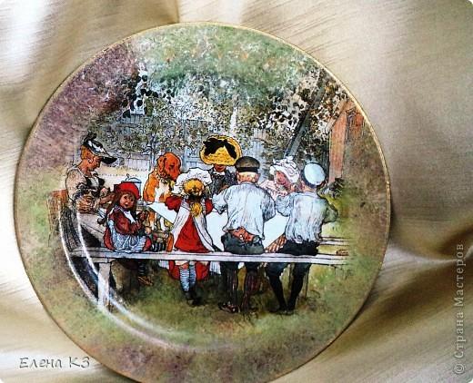 А сегодня у меня яблочки на тарелочках. Это первая. фото 8