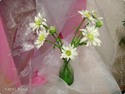 """Добрый вечер милые жительницы СМ!!!!!Очень люблю этот простой цветочек!!!!Цветок из детства))))плели веночки ....эх....как было это давно))))))Мне когда дарит их муж всегда так говорит-""""вот ромашки для моей Наташки"""" отсюда и название))))Насколько удалось повторить хочу услышать от Вас милые мастерицы!!!!!Приятного просмотра!!!!Желаю и всем окунуться в воспоминания о беззаботном  времени под названием....-ДЕТСТВО!!!!!! фото 5"""