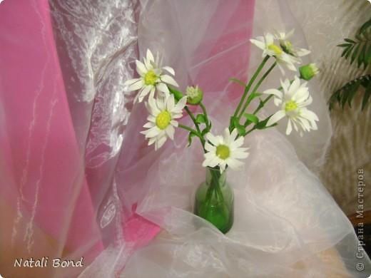 """Добрый вечер милые жительницы СМ!!!!!Очень люблю этот простой цветочек!!!!Цветок из детства))))плели веночки ....эх....как было это давно))))))Мне когда дарит их муж всегда так говорит-""""вот ромашки для моей Наташки"""" отсюда и название))))Насколько удалось повторить хочу услышать от Вас милые мастерицы!!!!!Приятного просмотра!!!!Желаю и всем окунуться в воспоминания о беззаботном  времени под названием....-ДЕТСТВО!!!!!! фото 6"""