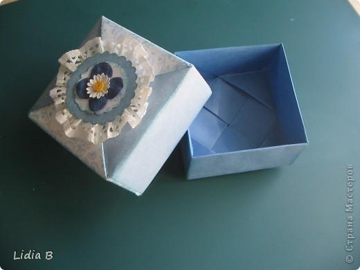 Сегодня наткнулась на очаровательную коробочку из оригами-модулей. фото 2