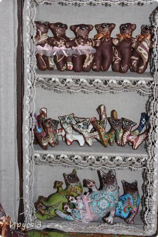 Нашилось много  маленьких игрушечек , показать всех постепенно не было возможности , поэтому котики и мишки здесь , все в одном посту ...-)))  фото 9
