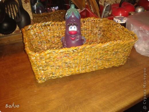 Моя первая корзинка от 25 января 2012 года фото 3