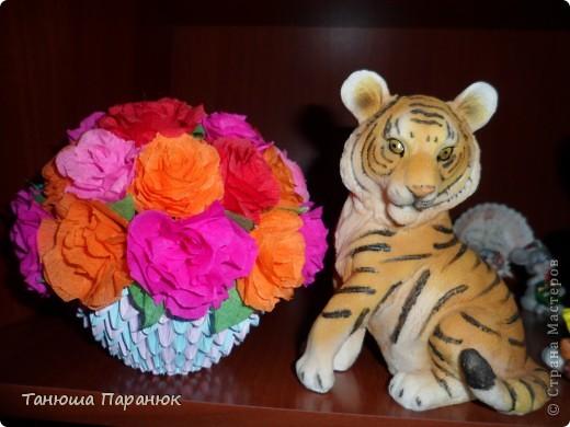 Букет роз + МК фото 1