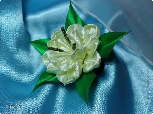 Вот такой цветок получился. фото 1