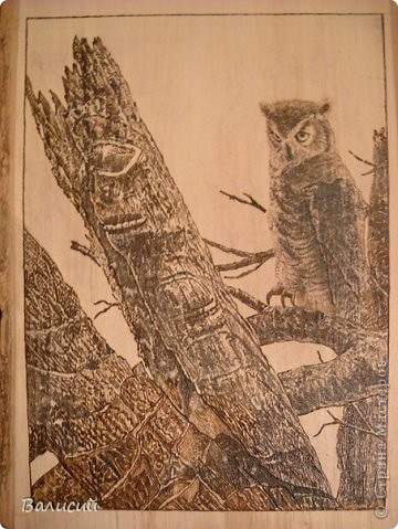 Настенное пано.    Спил каштана, доска  липа, цепки сделаны из шайб гровер. фото 3