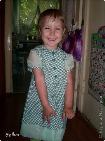 Платьеце на первый утренник фото 1