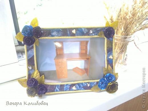 Рамка для мамы (первая работа) фото 1