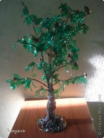 Деревья делала впервые.Саму идею увидела в интернете и захотела тоже попробовать.Вот получились у меня такие деревья. фото 1
