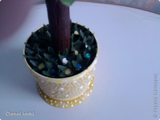 Новый топиарий: теперь цветочное дерево. фото 3