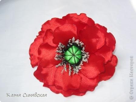 Цветочек с мешочком из фатина(туда будет прятаться кончик волос) фото 4