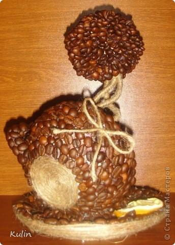кофейное трио, высота 22 см,диаметр 14 см. В стране много уже есть чашек с блюдцем кофейный, но еще что бы с деревом,пока не видела(возможно ошибаюсь), вот решила попробовать создать композицию из трех кофейный предметов фото 7