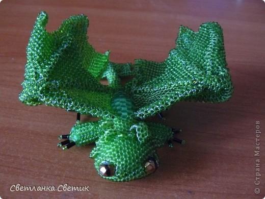 """Я думаю многие смотрели мультик """"Как приручить дракона"""".Это моя версия дракона по имени Беззубик,а если точнее его зеленой сестры(конечно в мультике ее нет,но кто запретил фантазировать?) фото 3"""
