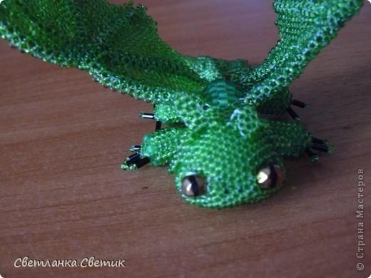 """Я думаю многие смотрели мультик """"Как приручить дракона"""".Это моя версия дракона по имени Беззубик,а если точнее его зеленой сестры(конечно в мультике ее нет,но кто запретил фантазировать?) фото 7"""
