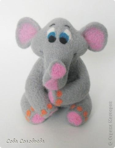 валяшка Слоненок. фото 1